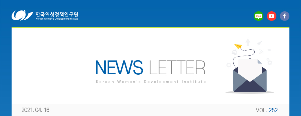 KWDI 뉴스레터 252호 / 2021.4.16 발행 /